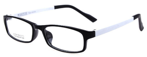 6738abfd536 ULTEM White Black Eyeglass Frames Clear Plain computer Glasses Spectacles  Rx able