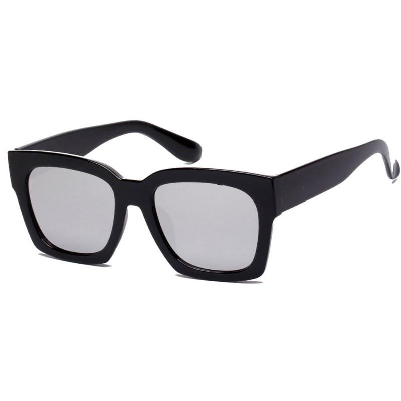 ٩(^‿^)۶Moda mujer hombres unisex cuadrado forma Gafas de sol UV400 ...