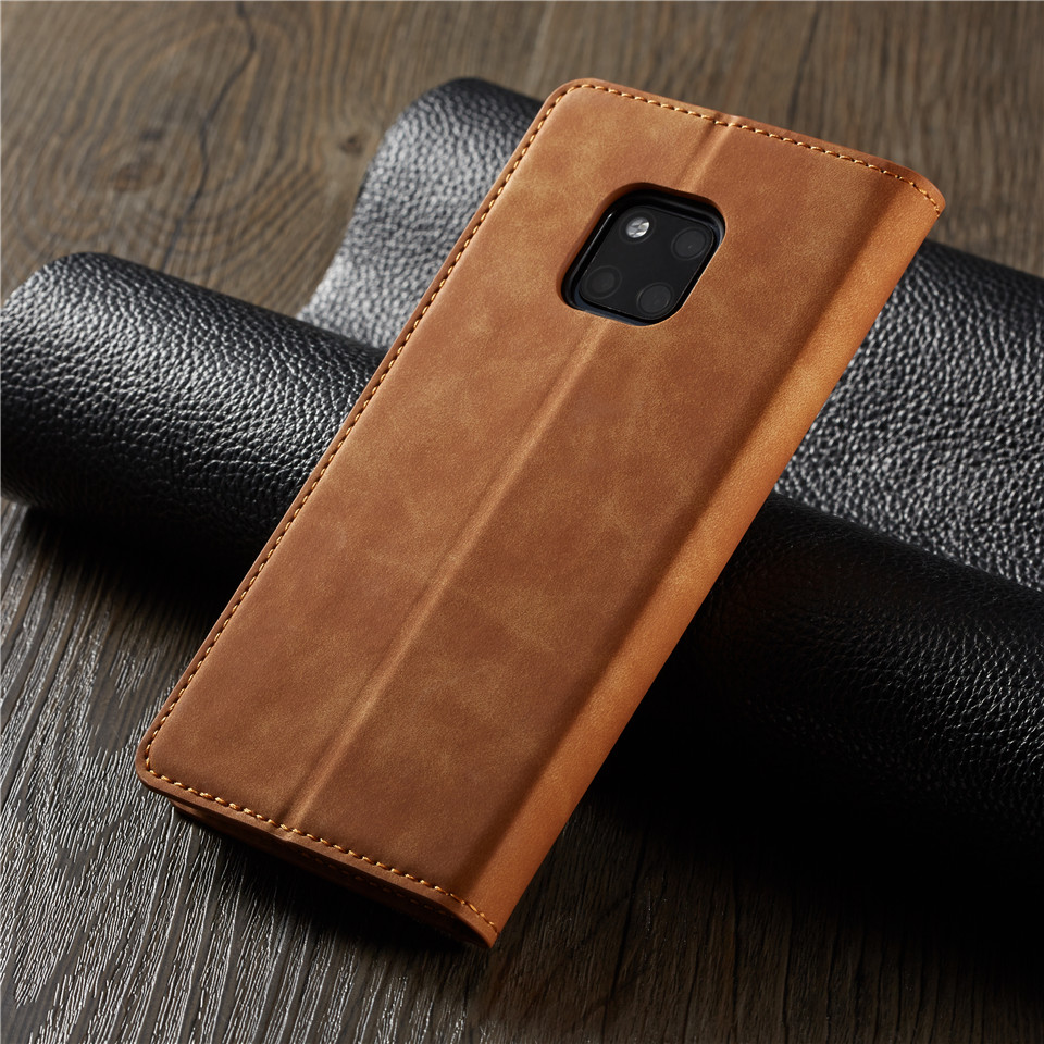 Luxury Flip Case For Huawei Mate 20 P20 Mate20 P30 Pro Lite Nova 3E Etui Card Holder Leather Wallet Stand Phone Cases Book Cover