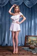Ensen Deluxe women sexy Greek Goddess dress cosplay greek goddess Halloween costume Queen Venus clothing club playing dresses