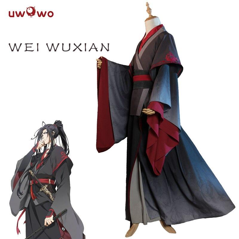 UWOWO Wei Wuxian Cosplay Xuanyu Traje Anime Mestre Demoníaco Cultivo Cosplay Mo Mo Shi Dao Zu Homens Traje