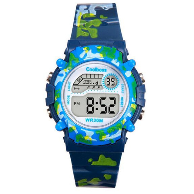 COOLBOSS New Clock Children Sports Water Resistant Watches Watch Boys And Girls