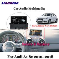 Liandlee Car Android System For Audi A1 8X 2010~2018 With AUX Radio TV BT DVD Carplay GPS Navi Navigation BT Screen Multimedia