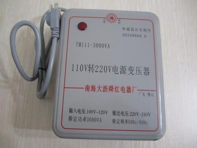 3000W transformer voltage converter 110V to 220V(or 220V to 110V) for machine use 220v to 110v 110v to 220v 500w power transformer voltage converter