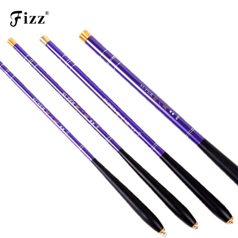 Delicate Portable Telescopic Hand Fishing Rod Carbon Fiber Pole 2.1M 2.4M 2.7M 3.0M 3.6M 4.5M Stick Hot Sale