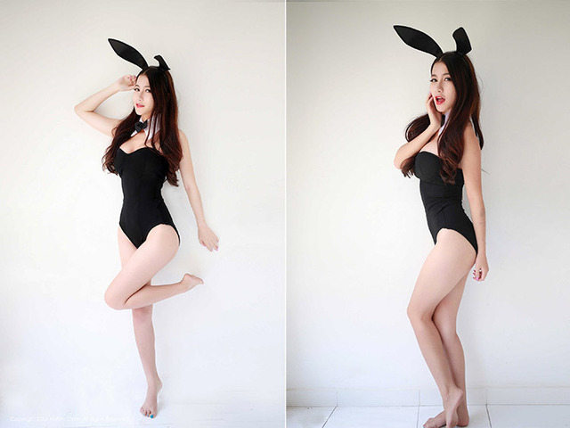 Hot Sexy 3PCS/Set Catwoman Bunny Uniforms Temptation Suit Bunny Sexy Lingerie Costumes Sex Toy Underwear COSPLAY Bunny Girl 28
