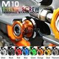 Motorcycle CNC M10 stand screws Swingarm Spools slider For KTM DUKE 125/200 DUKE390 690 990