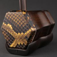 Black Rosewood erhu Chinese Musical Instruments with bag and bow china erhu with music book