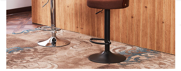 Responsible Modern Simple Bar Chair Lifted Rotated Coffee Shop Stool Multi-function Cashier Seat With Footrest Household Leisure Pu Stool Bar Chairs