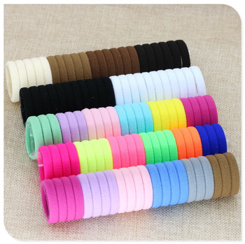 40 Pieces Elastic Hair Bands for Girls Black White Accessories 2020 For Ponytail Rubber Bands Holder Do Wlosow Isnice 2