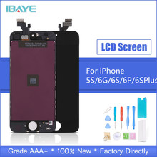 LCD For iPhone 5s Display Touch Screen for iphone Digitizer Assembly Ecran Replacement + Tempered Glass Tools Gift