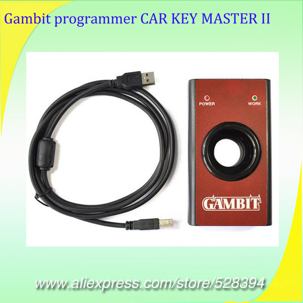 Auto Transponder Chip programmer Gambit programmer CAR KEY MASTER II DHL EMS Fast Delivery Most Reasonable Shipping Fee dhl ems new for key ence kv n14ar controller