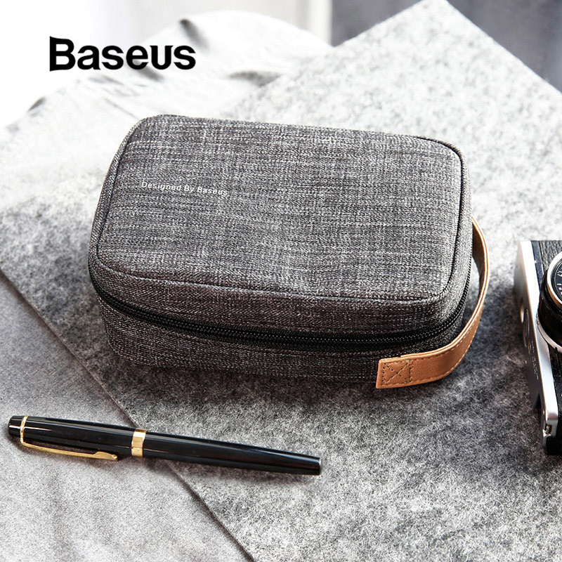 <font><b>Baseus</b></font> Mobile Phone Bag for <font><b>iPhone</b></font> XR Xs X Max Samsung S10 Xiaomi Portable Phone Case for Huawei P30 Pro P20 Phone Cover Case image