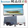 Leeman HD RGB P10 открытый передвижной трейлер СВЕТОДИОДНЫЙ дисплей знак для видео рекламы от Шэньчжэнь наружной рекламы светодиодный экран