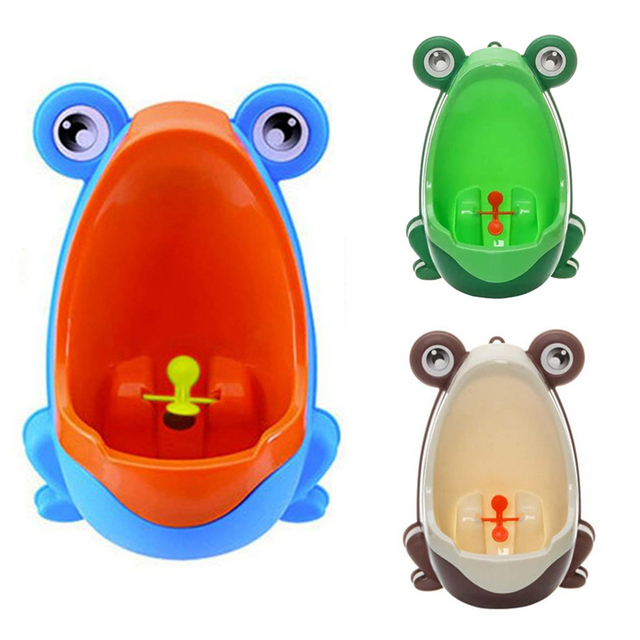 Frog Children Potty Toilet Training Kid Urinal for Boy Pee Trainer Bathroom