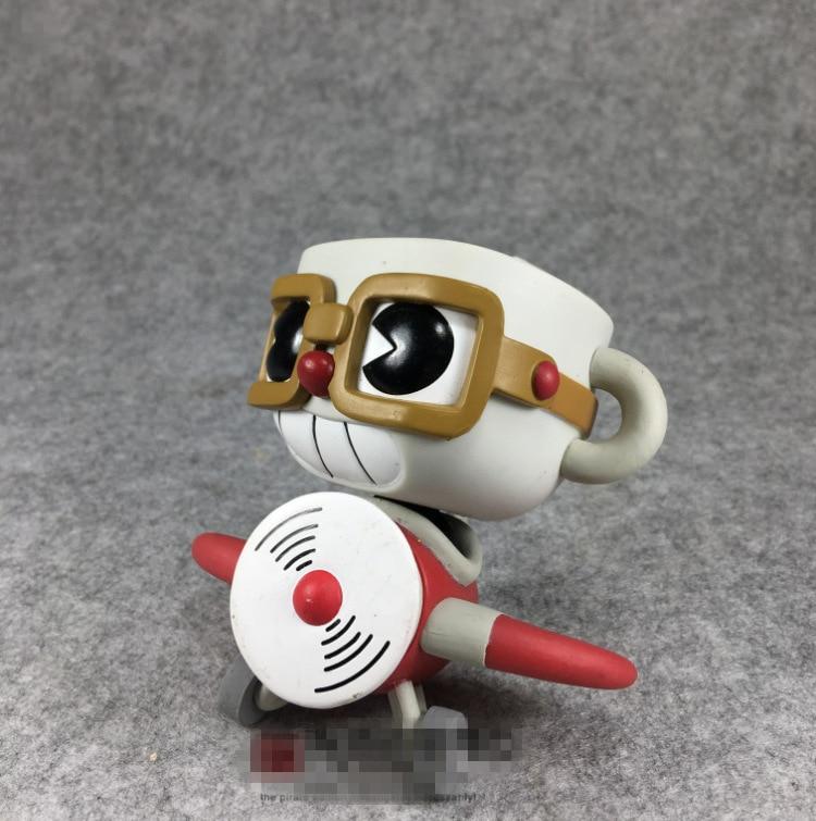 Original Funko pop Secondhand Games: Aeroplane Cuphead Vinyl Action Figure Collectible Model Loose Toy No boxOriginal Funko pop Secondhand Games: Aeroplane Cuphead Vinyl Action Figure Collectible Model Loose Toy No box