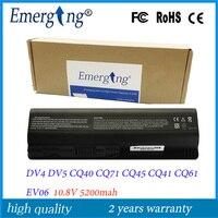 6Cell 10.8v 5200mAH New Japanese Cell Laptop Battery for HP pavilion DV6 G62 DV4 DV5 CQ45 CQ40 G50 G60 G70 Battery