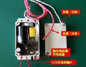 Image 5 - 220 v Yüksek gerilim elektrostatik jeneratör güç kaynağı hava temizleyici 10000 v outpu