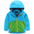 Children Outerwear Waterproof Windproof Boys Jackets Child Coat Sporty Kids Clothes Double-deck For 5-14T
