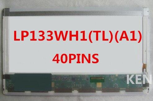 NEW 13.3 Compatible LED Screen WXGA LP133WH1(TL)(A1)