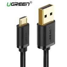 Ugreen Micro USB Cable 2A cargador rápido del teléfono móvil Cable de datos USB Cable de carga para Samsung Xiaomi Huawei Tablet Android cable