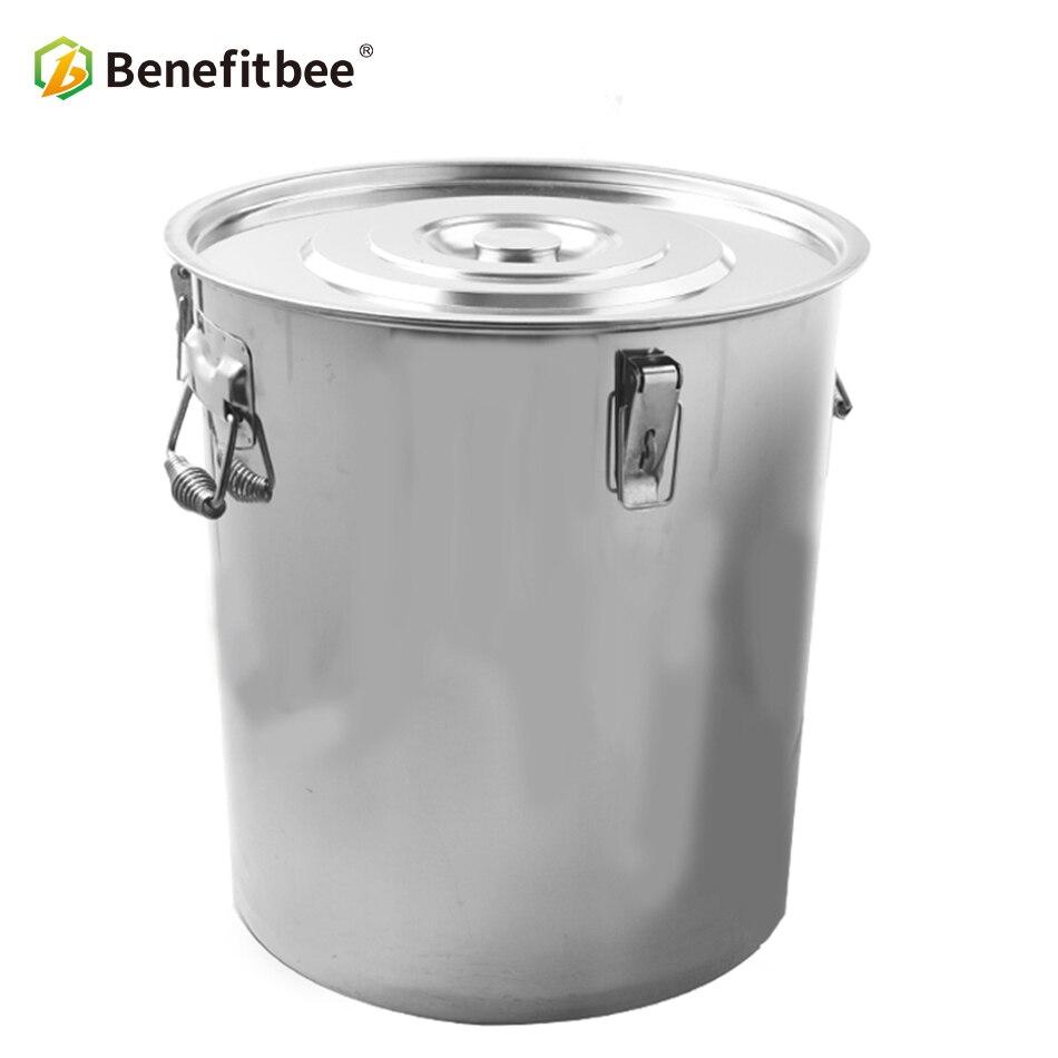 Beekeeping tools 1pcs beekeeping equiption Stainless steel honey tank with valve