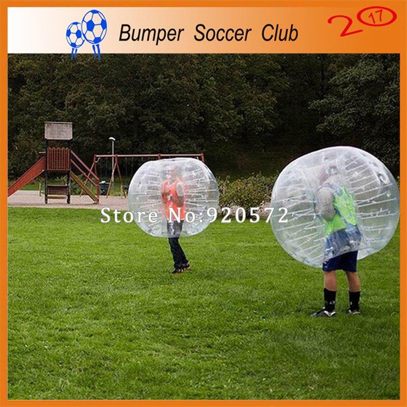Livraison gratuite! Ballon gonflable de jeu de football de boule de butoir de ventre gonflable de copain de 1.5 m nouvellement à vendre