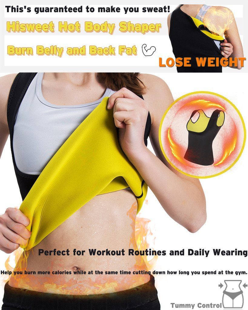 Cn Herb Slimming Body Shaper For Women Tummy Weight Loss Hot Thermo Neoprene Sweat Sauna Vest Free Shipping in Slimming Product from Beauty Health