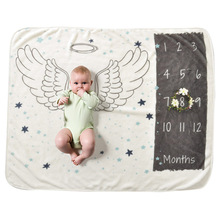 Baby Blanket Background Newborns Photography Props Infant Rug Boy Girl Photo Accessories