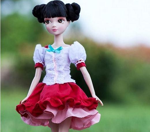 Free shipping Sale 29cm Kurhn Doll Toys For Children Kid  Girl Toys Birthday Best Gift #1132