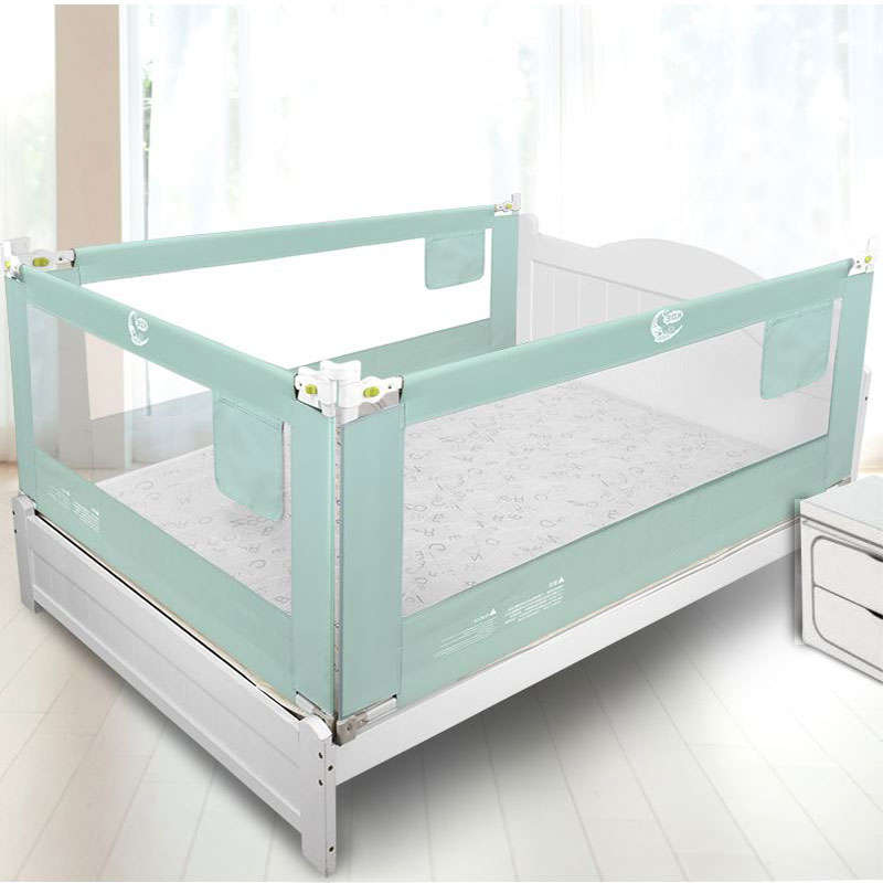1 PC Vertical Lifting Bed Guardrail Fence Baby Bed Shatter resistant Bed Protective Barrier for Children Bed Baffle Kids Playpen-in Gates & Doorways from Mother & Kids    1