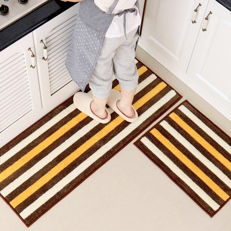 Modern Washable Kitchen Mat Set Carpet Bathroom Designer Children Bedroom Floor Mats Home Decor Rugs
