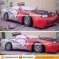 8 m Inflable gigante racing car replica modelo decoración para eventos/publicidad personalizar BG-A0571 juguete