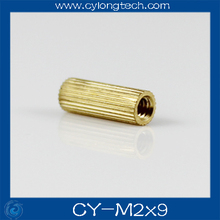 Free shipping M2*9mm cctv camera isolation column 100pcs/lot Monitoring Copper Cylinder Round Screw.CY-M2*9mm