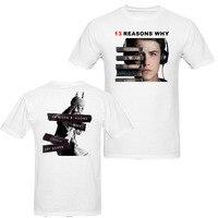Thirteen 13 Reasons Why Men Women T Shirt America Drama TV Shirts 100 Cotton Many Colors
