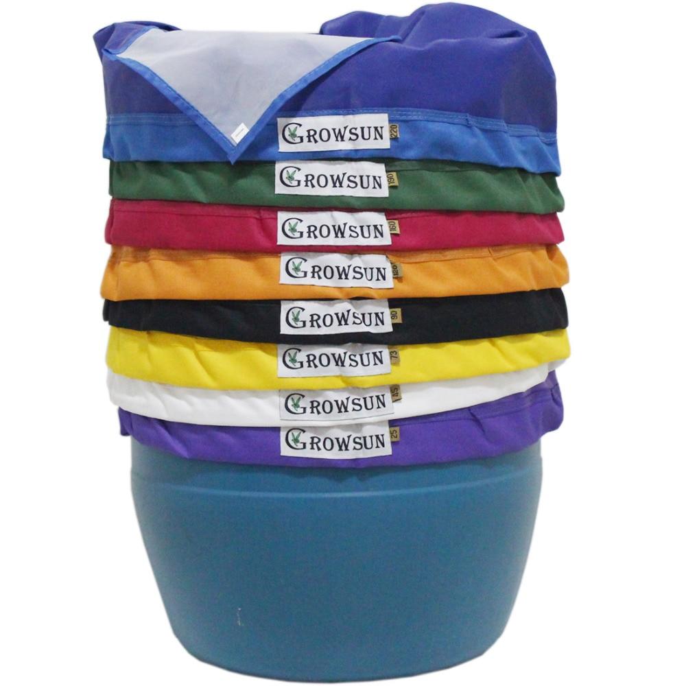 Growsun Pflanzliche Eis Blase Raute Taschen Essenz Extraktion Kit, Freies Tragetasche & Drücken Bildschirm Enthalten