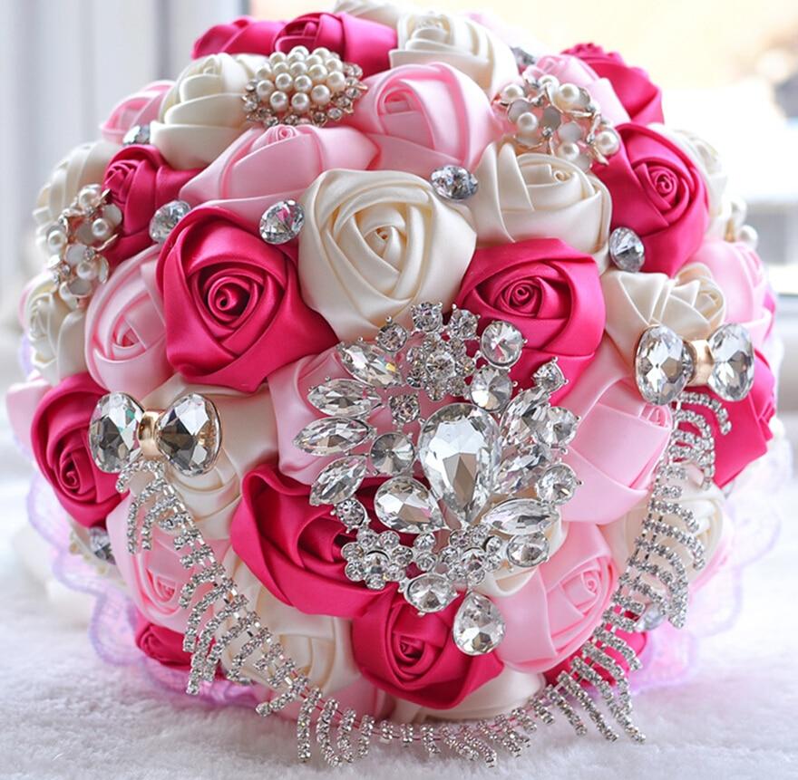 Aliexpress.com : Buy 2017 New SSYFashion Luxury Wedding Bouquets ...