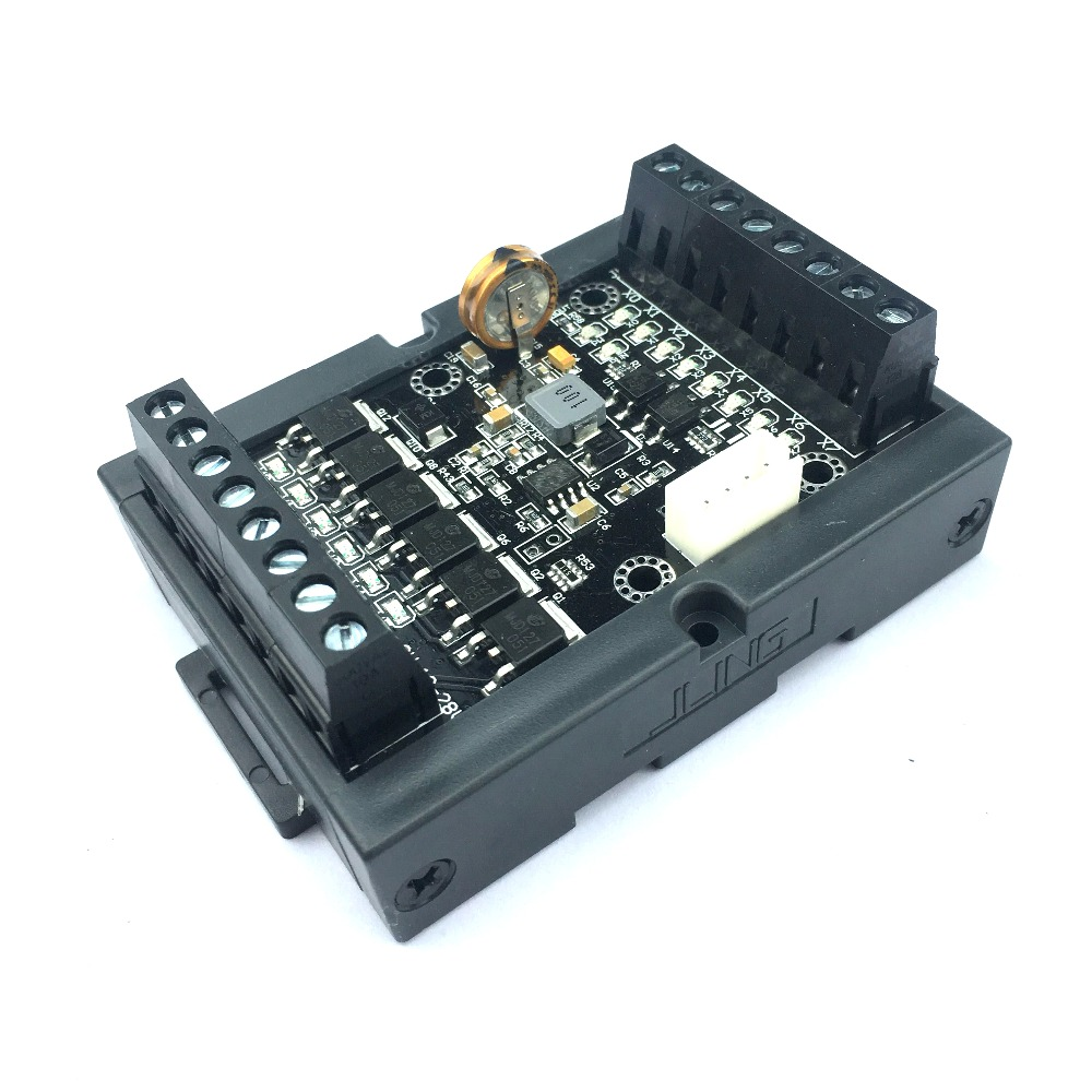 PLC Industrial Control Panel Simple FX1N-14MT Delay Module Can Be Directly Filming In Large Quantities.