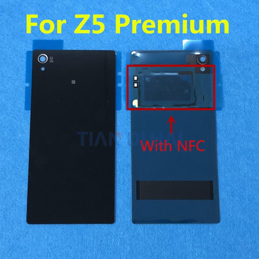 Us 499 Battery Rear Door Cover For Sony Xperia Z5 Premium E6853 E6883 E6833 55 Inch Housing Glass Battery Back Covernfc Sticker Glue In Mobile
