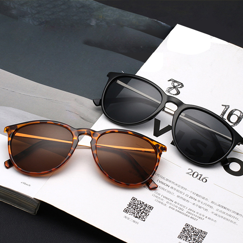 FONHCOO Classic Vintage napszemüveg női macska szemüveg kerek UV-védelemű napszemüveg Gafas
