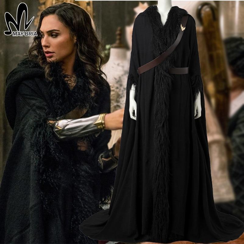 2017 Wonder Woman Diana Prince Cosplay Cloak Halloween -1283