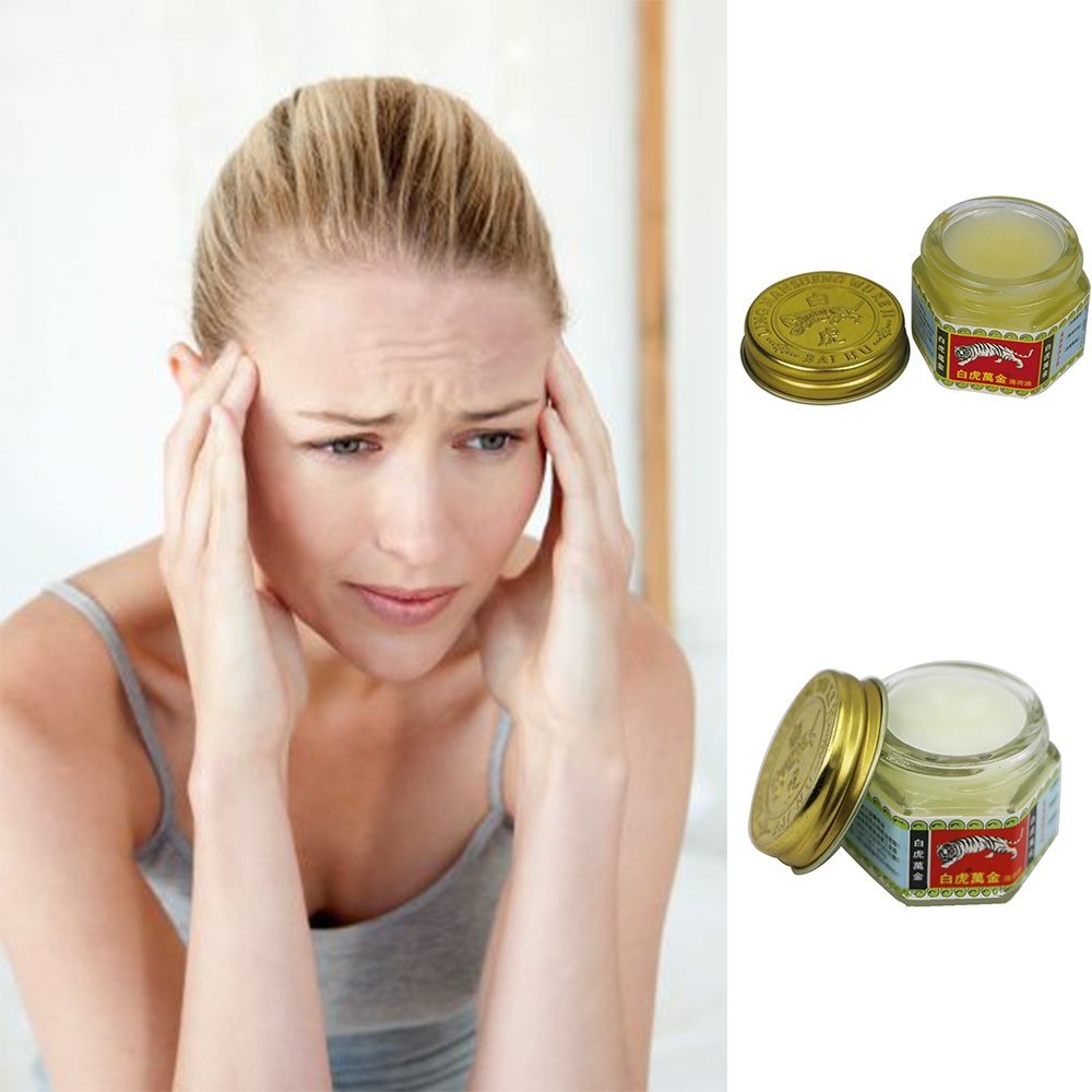 White Tiger Balm Ointment For Joints Balsam Massage