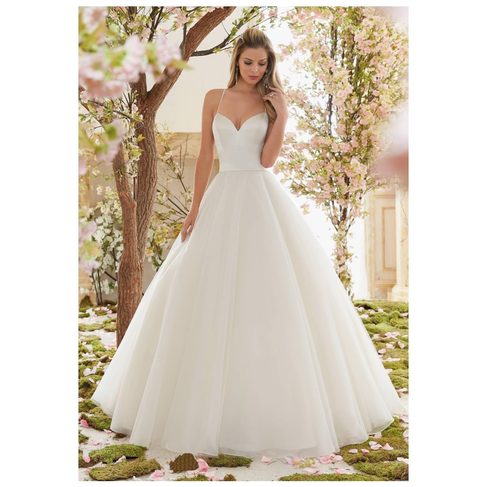 Simple Cheap Wedding Dresses Long Sexy Sweetheart Backless