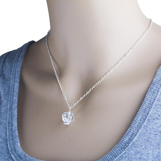 November the simple western wind women water crystal necklace november the simple western wind women water crystal necklace beautiful skull pendants new style fashion jewelry mozeypictures Image collections