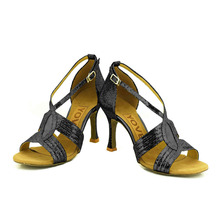 YOVE w133 18 Dance Shoes Women s Latin Salsa Dance Shoes 3 5 Flare High Heel