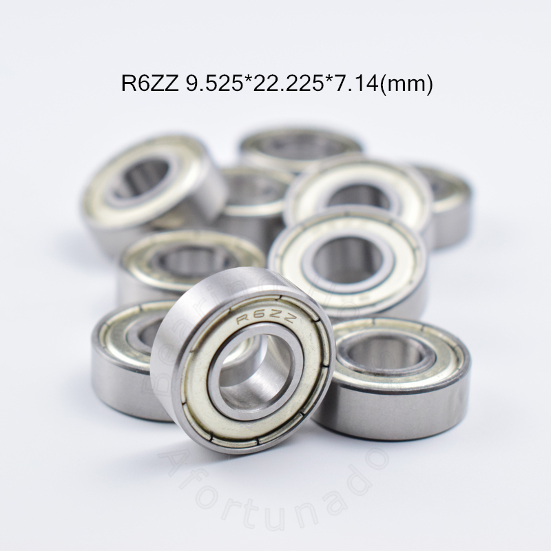"R6ZZ 5 PCS Metal Shielded Ball Bearing Bearings R6 R6z 3//8/"" X 7//8/"" X 9//32/"""