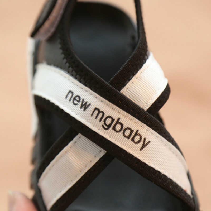 Пляжные сандалии для детей; мини-обувь Melissa; мягкая нескользящая подошва; Новинка; модная детская обувь для отдыха; летние сандалии для девочек