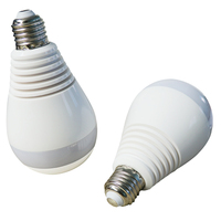 Newest IP Camera Panoramic 360 Degree Wifi LED Bulb Light Wireless HD 1080P Security Surveillance Cam