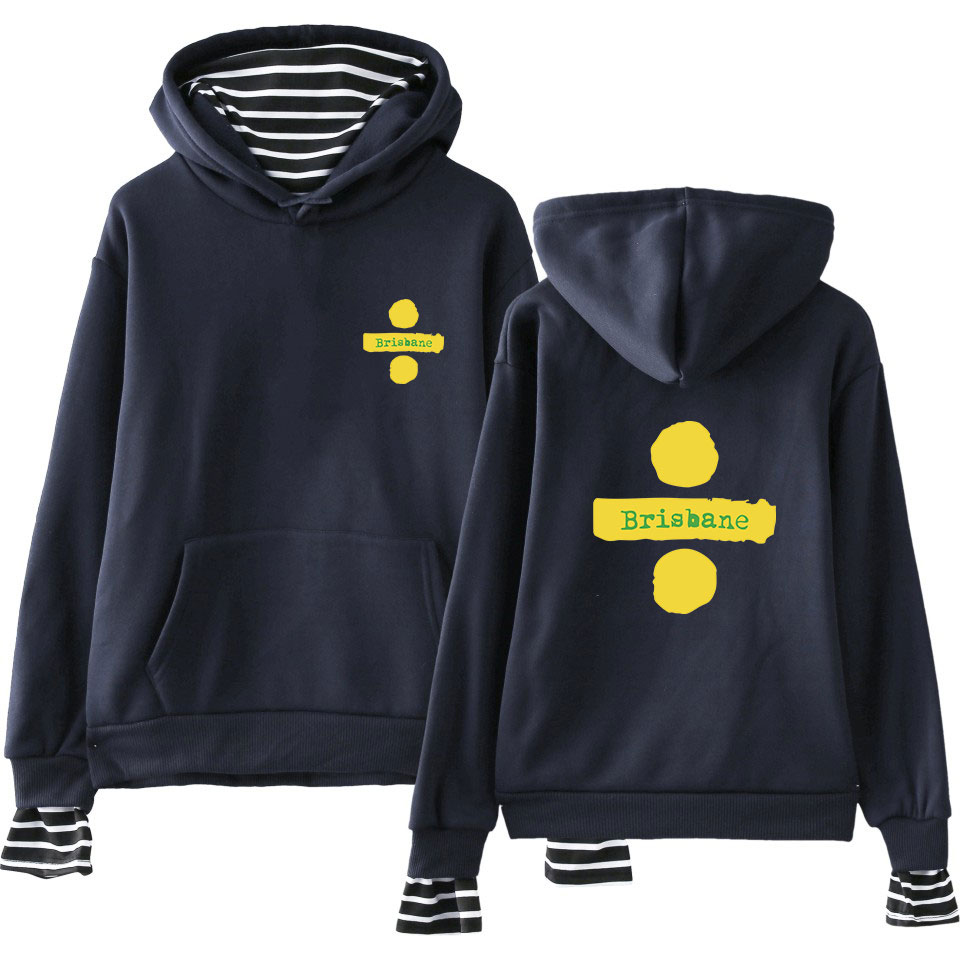 Frank Men Women Fake Two Pieces Hoodies Autumn Winter Warm Long Sleeves Pullover Striped Hooded Sweatshirts For Girls Boys Symbol Coat Women's Clothing