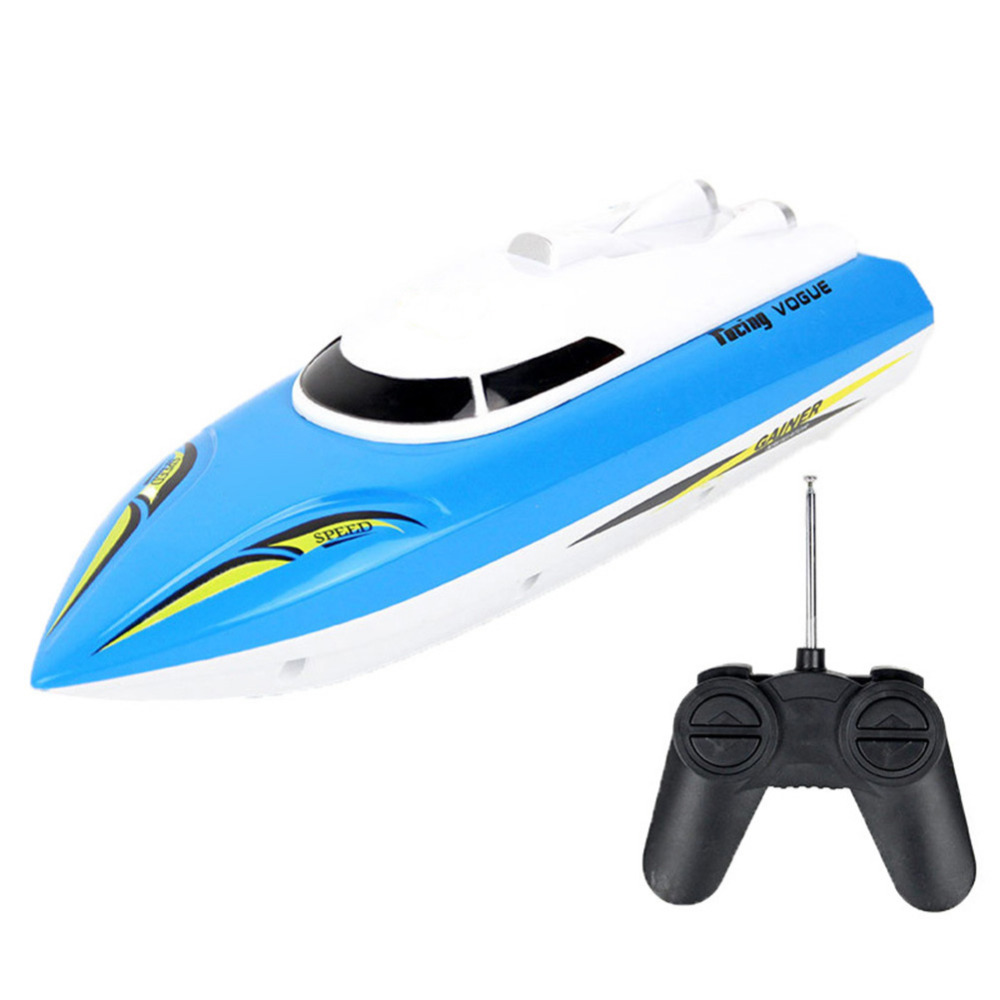 RC Speed Racing Boat Radio Remote Control RTR Electric Dual Motor Toy Boats Color Random Hot Selling Great Children Gift